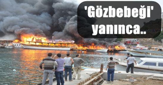 'GÖZBEBEĞİ' YANDI, BİTTİ, KÜL OLDU!