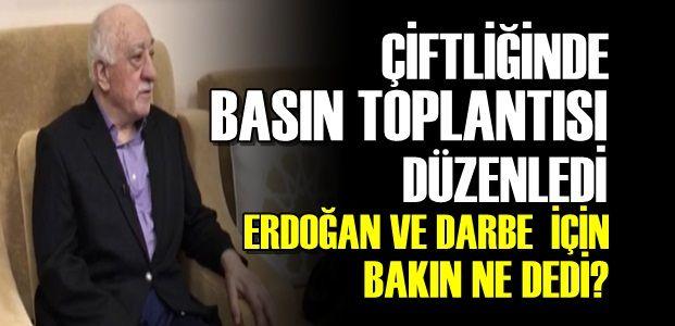 GÜLEN'DEN FLAŞ AÇIKLAMALAR!
