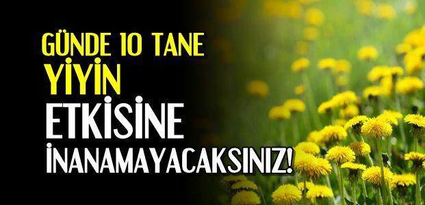 GÜNDE 10 TANESİ MUCİZE YARATIYOR...