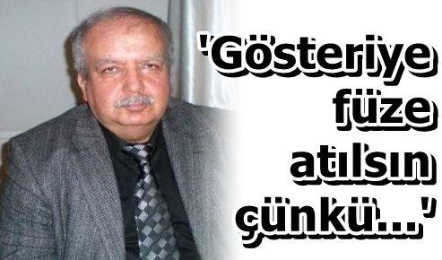 GÜNEYDOĞU'DA 'SAVAŞ HUKUKU' UYGULANMALI AYRICA...