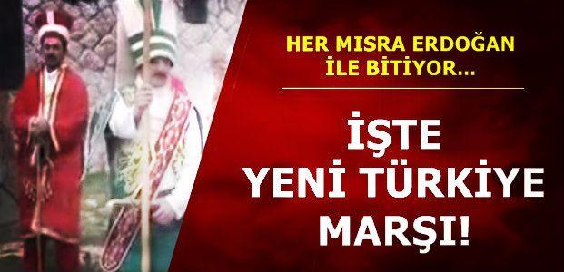 GÜZEL'DEN 'YENİ TÜRKİYE' MARŞI...