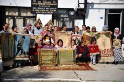 HALILARDA ''PRİENE'' MOTİFLERİ