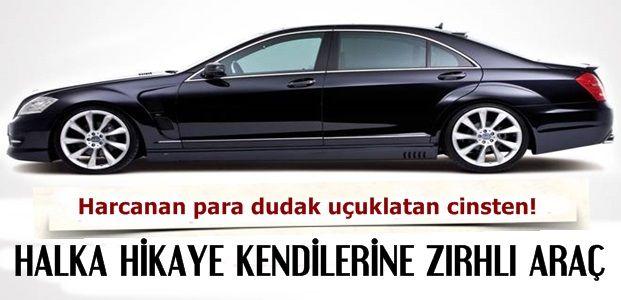 HALKA GELİNCE HİKAYE KENDİLERİNE GELİNCE ZIRH...