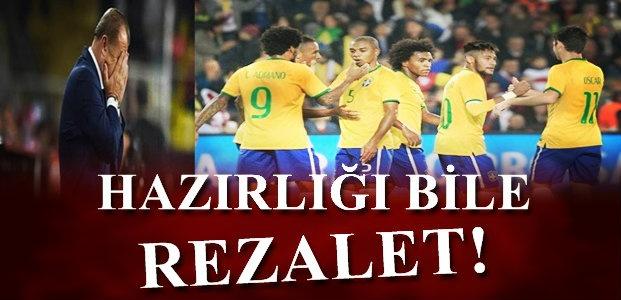 HAZIRLIK BİLE 'REZALET'...