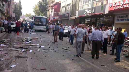 HDP BİNALARINDA BOMBA ŞOKU...