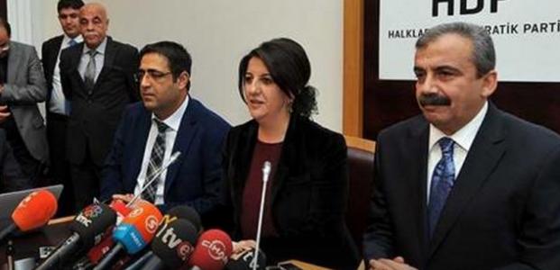 HDP'DEN ÇÖZÜM SÜRECİ AÇIKLAMASI...