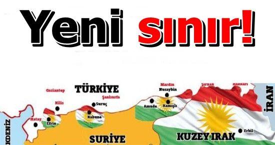 HER YERİ KÜRT BAYRAKLARI İLE DONATTILAR...