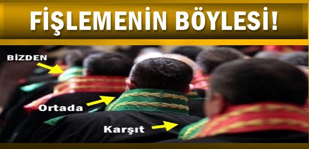 HSYK'DA 'FİŞLEME' SKANDALI!