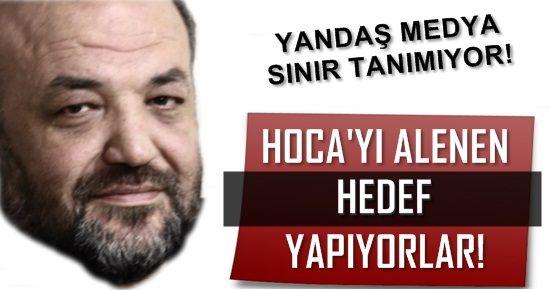 İHSAN HOCA'YI ALENEN HEDEF GÖSTERİYORLAR!