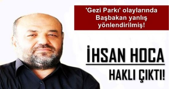 İHSAN HOCA'YI DOĞRULAYAN ARAŞTIRMA...