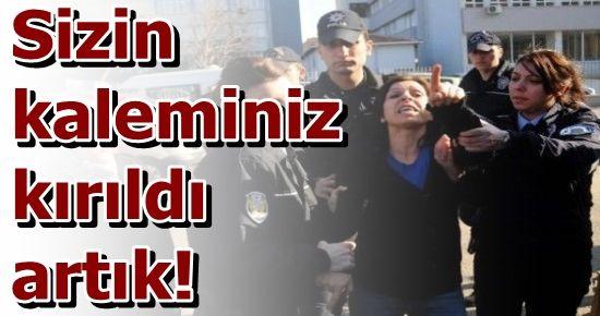İKİ KADINA YİRMİ POLİS