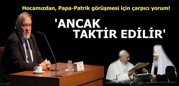 İLBER HOCA'DAN FLAŞ SÖZLER!