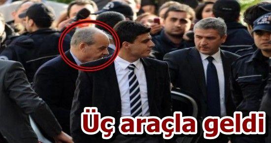 İLKER BAŞBUĞ ADLİYE'DE...