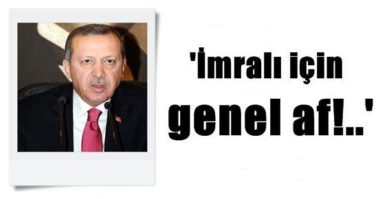 'İMRALI İÇİN GENEL AF!..'
