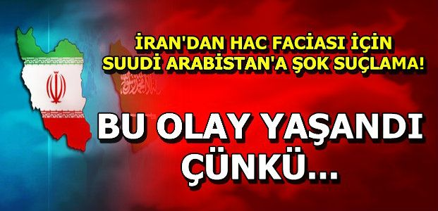 İRAN FACİANIN NEDENİNİ AÇIKLADI...