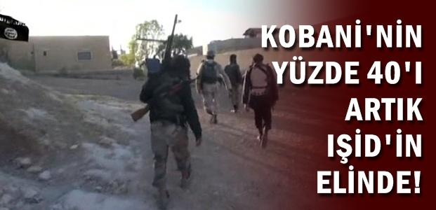 IŞİD, KOBANİ SOKAKLARINDA...