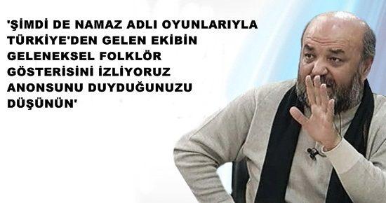 """""""İSLAM, FOLKLORİK BİR UNSURA DÖNÜŞEBİLİR"""""""