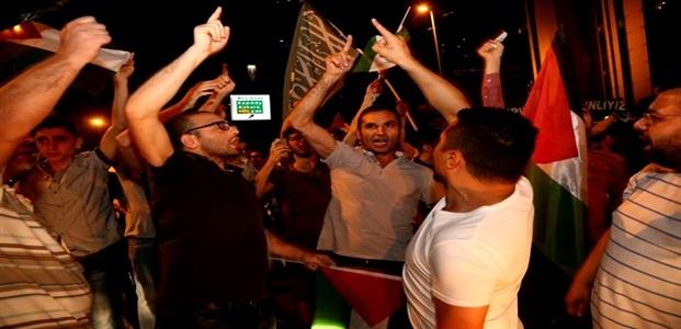 'İSRAİL'İ PROTESTO ETMEYİN' MÜDAHALESİ