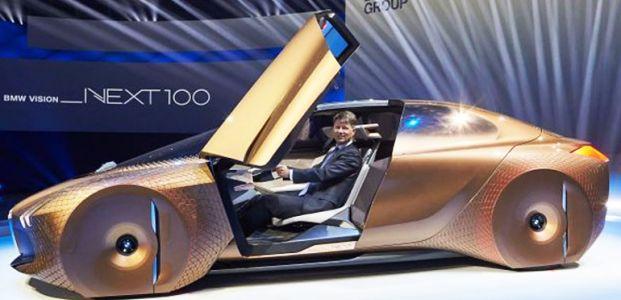 İŞTE BMW VİSİON NEXT 100...