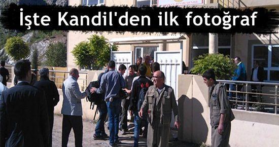 İŞTE KANDİL'DEN İLK FOTOĞRAF
