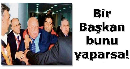 İŞTE TRABZONSPOR BAŞKANI'NIN ETTİĞİ O KÜFÜR