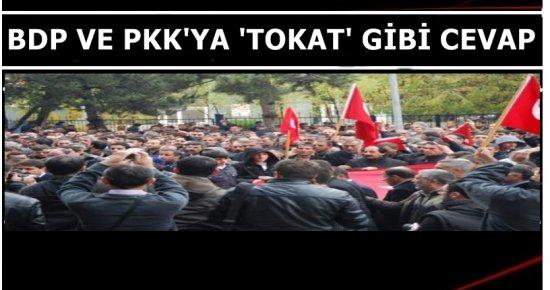 İSTİFA, İSTİFA... KAHROLSUN PKK!