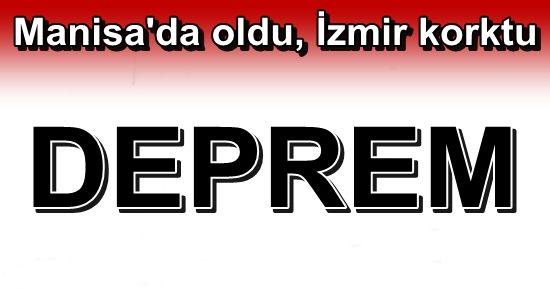 İZMİR'DE DEPREM PANİĞİ