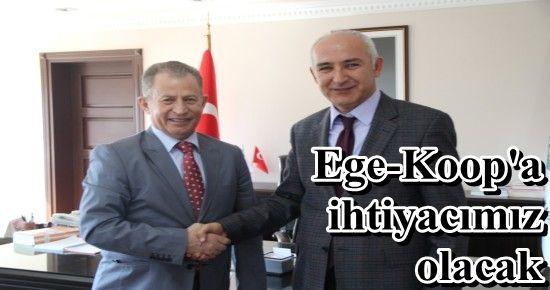 'İZMİR'DE EGE-KOOP DEVREYE GİRECEK'