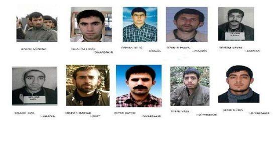 KAÇANLAR PKK'NİN CANİLERİ...