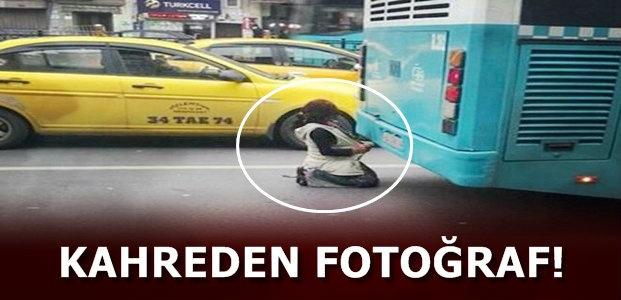KAHREDEN FOTOĞRAF!