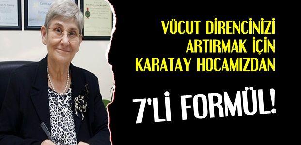 KARATAY HOCA'DAN 7'Lİ FORMÜL...