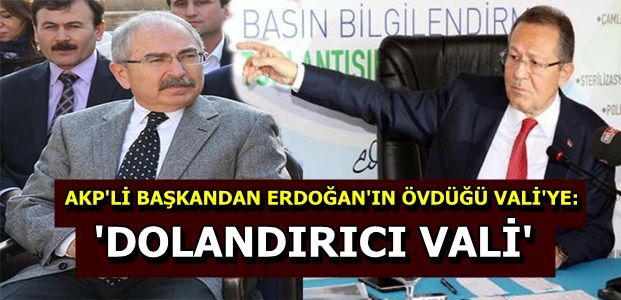 'KENDİSİ NİTELİKLİ DOLANDIRICIDIR'