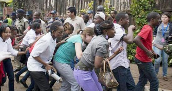 KENYA'DA DEHŞETİ ANLATTI
