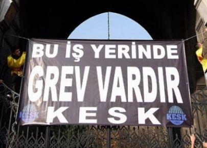 KESK GREVE GİDİYOR...