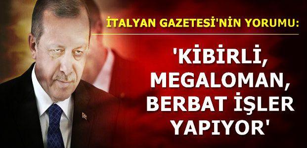 'KİBRİ VE GÜCÜYLE TANSİYONU ÇIKARTTI'