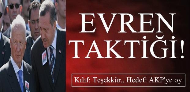 KILIF 'TEŞEKKÜR'.. HEDEF: AKP'YE OY..