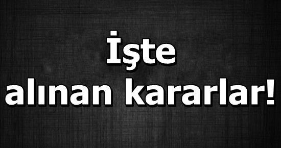 KİM NE CEZA ALDI, HEPSİ BURADA!