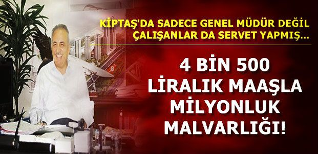 KİPTAŞ'TA İKİNCİ PERDE...