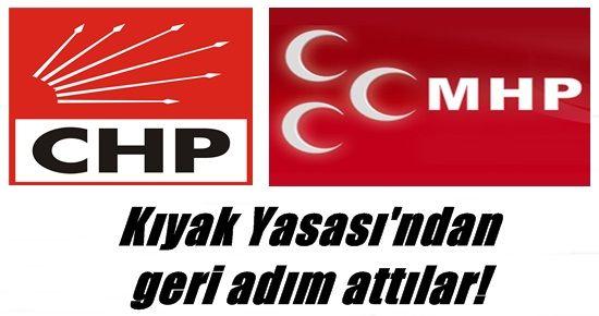 KIYAK YASASI'NDAN ÇARK ETTİ!