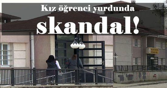 KIZ YURDUNDA SKANDAL!