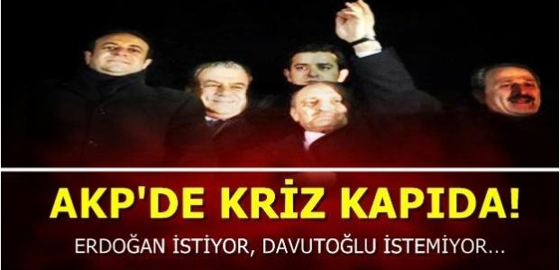KRİZ KAPIDA...