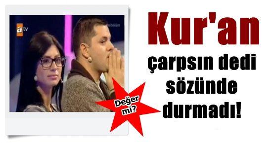 KUR'AN YEMİNİ ETTİ PARAYA DAYANAMADI!
