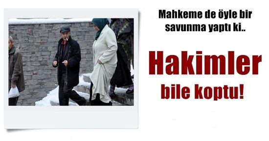 MAHKEME HEYETİ BİLE KENDİNİ TUTAMADI!