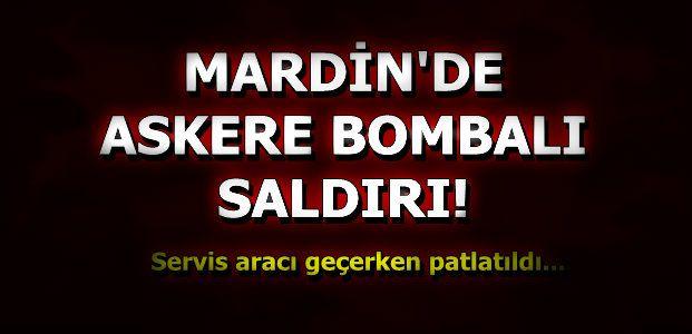 MARDİN'DE PATLAMA!