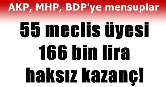 MECLİS ÜYELERİNE BAK! VAY HALİNE ÜLKENİN!