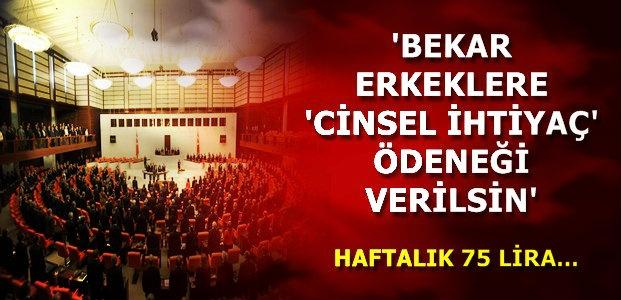 MECLİSE ŞOK TEKLİF!