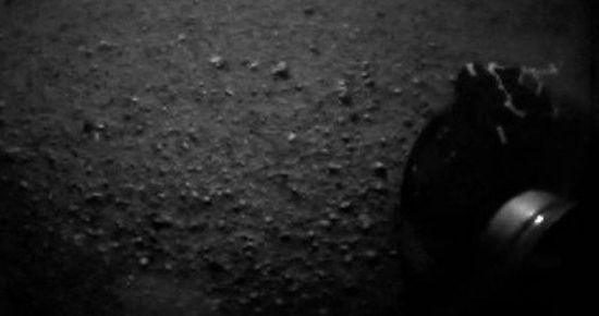 'MERAK' MARS'A İNDİ...