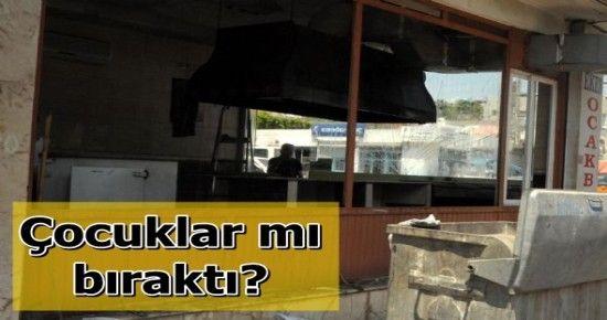 MERSİN'DE BOMBA PATLADI: 1 YARALI...