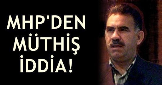 MHP'DEN MÜTHİŞ BİR İDDİA DAHA!