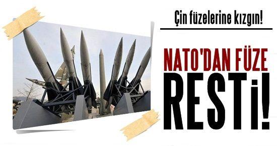NATO'DAN FÜZE RESTİ!